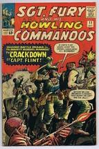 Sgt Fury and His Howling Commandos #11 ORIGINAL Vintage 1964 Marvel Comi... - $39.59