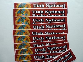 20 BSA BUMPER STICKERS - Utah National Parks Council - Boy Scouts of Ame... - $5.97