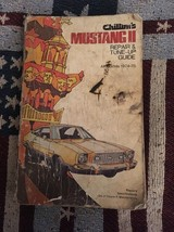 1974-1975 FORD MUSTANG SHOP MANUAL 1975 CHILTONS SERVICE BOOK MUSTANG II - $4.56