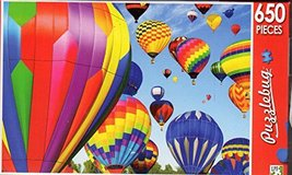 Colorful Hot Air Balloons - Puzzlebug - 650 Pieces Jigsaw Puzzle - $4.82