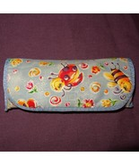 Childs Eyeglass Case Bugs Flowers Insects Fabric  Plastic Ladybug Bee - $6.99