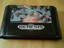 Sports Talk Baseball - Sega Genesis, Game cartridge only - $2.87