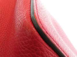 GUCCI Shoulder Bag Leather Red 2Way Soho Interlocking G 536194 Italy Authentic image 5