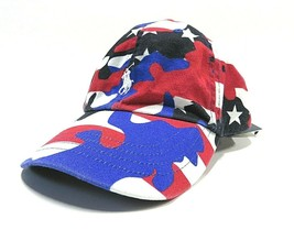 POLO by RALPH LAUREN Embroidered Logo Patriotic Strap Back Dad Hat ONE S... - $59.35