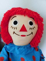 "(2) 36"" RAGGEDY ANN DOLLS with Hangtags Applause image 8"