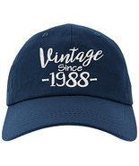 owndis Cap 1988-30th Birthday Gift, Vintage Aged To Be Perfected Since B... - $19.79