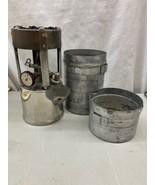 VINTAGE COLEMAN NO.530 G.I. POCKET STOVE B46 DATE CODE ORIGINAL CASE & F... - $139.99