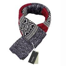 Teen Boys Mens Contrast Color Long Scarves Winter Warm Cozy Leisure Mufflers Nec image 2