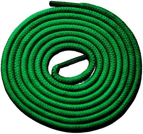 "Primary image for 54"" Green 3/16 Round Thick Shoelace For All Junior Sneakers"