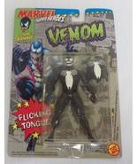 VINTAGE SEALED 1991 Toy Biz Venom Flicking Tongue Action Figure - $27.79