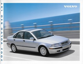 2002 Volvo S40 sales brochure catalog US Canada 02 1.9T - $8.00
