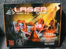 Laser Khet 2.0 Game Egyptian Themed Strategy Boardgame Complete Mensa Se... - $28.96