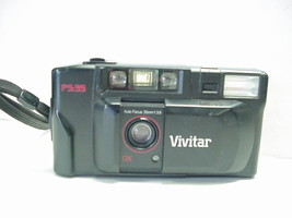 Vivitar PS:35  35mm Camera with Built-in Flash - $19.79
