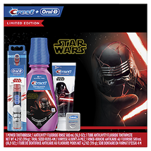Crest & Oral-B Kids Premium Holiday Gift Pack with Power Toothbrush 4.2 ... - $21.50