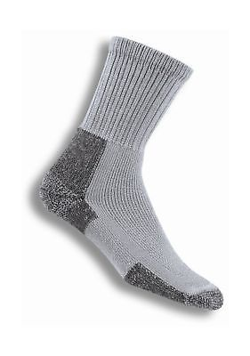 Thorlo KX Men's Thick Cushion Hiking Crew Socks Grey Large