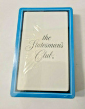 The Statesman's Club Deck of Playing Cards   (#39) image 1