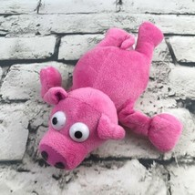 Playmaker Toys Pig Plush Pink Laying Stretch-Arms Stuffed Animal Soft Toy - $9.89