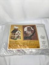 The Creative Circle Cottage Boutique Tissue Box Cover Plastic Canvas Kit... - $14.50