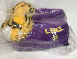 LSU Louisiana State University Women'a Slippers Many Sizes Purple Tigers image 2