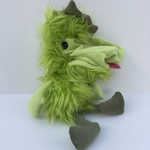 2001 Manhattan Toy Monster Bird Hand Puppet Plush Lime Green 11 in. Toy - $19.00