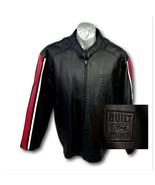 Ford Mens Black Leather Jacket Size XL Built Ford Tough Nice - $149.00