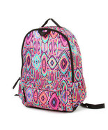 Pink and Purple Tribal Pattern Padded Backpack Girl's School Book Bag - NWT - $31.29
