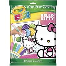 Crayola Crayon Wonder Hello Kitty 18 Page Coloring Pad and 5 Count Marker - $15.80