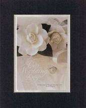 Our Wedding Day 8 x 10 Inches Biblical/Religious Verses set in Double Beveled Ma - $11.14