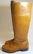 Sperry Leather Boots Womens Size 6B Tan - $18.69