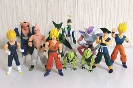 unifive Dragon Ball Z Gokou Daikessen Action Figures Lot of 10 Pikkon Da... - $129.80
