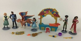 Disney Store Elena Of Avalor Playset 15pc Lot Figures Accessories Isabel Mateo - $24.70