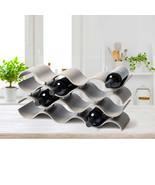 NEW Seville Classics 12-bottle Ashwood Wine Rack **FREE SHIPPING** - $44.99
