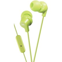 Jvc In-ear Headphones With Microphone (green) JVCHAFR15G - $25.28