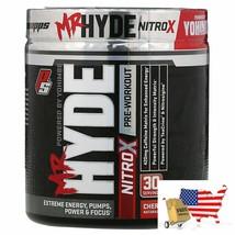ProSupps, Mr. Hyde, Nitro X, Pre Workout, Cherry Popsicle, 8.0 oz (228 g) - $57.39