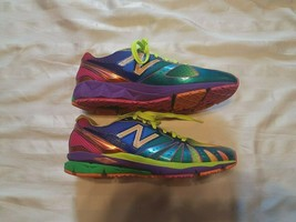 New Balance Womens Rainbow 890 Barringer Running Sneakers Shoes WR890RG ... - $49.29