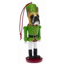 BOXER (CROPPED) CHRISTMAS ORNAMENT NUTCRACKER SOLDIER HOLIDAY XMAS 5 in - $12.98