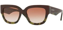 Burberry Women's Top Bordeaux on Green Havana Sunglasses - BE4252 365113 - $129.99