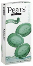 Pears Transparent Soap Bars 4.4 oz, 3 ea Original gentle care - $10.49