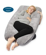 QUEEN ROSE Pregnancy Pillow - Full Body U Shaped Maternity Pillow,Suppor... - $47.46