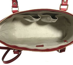 NEW GUCCI Microguccissima Leather Zip Top Crossbody Handbag image 10