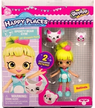 Shopkins Happy Places Ballinda & 2 exclusive Petkins Lil' Shoppie Pack S3 - $9.95