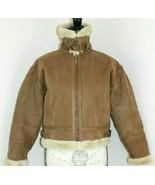 Protocol Size 10 Flight Bomber Leather USAF Women's Jacket Vintage USA F... - $92.62