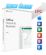 INSTANT DELIVERY - MS Office 2019 Home & Business Mac - 1PC - $15.90