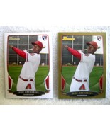 DIDI GREGORIUS RC 2013 BOWMAN REGULAR+GOLD PARALLEL CARD#88-DIAMONDBACK/... - $19.79