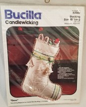 "Bucilla Candlewicking Christmas Stocking Kit - Dove #82060 15"" Long New - $24.14"