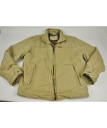 ABERCROMBIE & FITCH Work Coat DUCK Heavy COTTON Wool Blanket LINED Full ... - $64.35