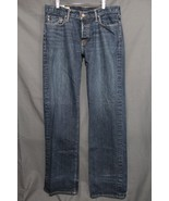 Men's Abercrombie & Fitch Classic Straight Jeans Faded Distressed Medium... - $23.94