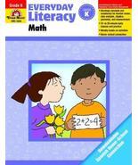 Everyday Literacy: Math, Grade K [Paperback] [Jan 01, 2013] Evan Moor - $16.73