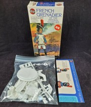 Vintage Airfix 1/12 French Grenadier Of The Imperial Guard 1815 Model Ki... - $41.99