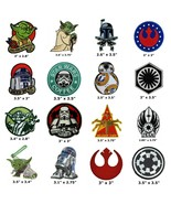 Star Wars Iron On Patch Empire Darth Vader Stormtrooper Luke Skywalker J... - $3.87+